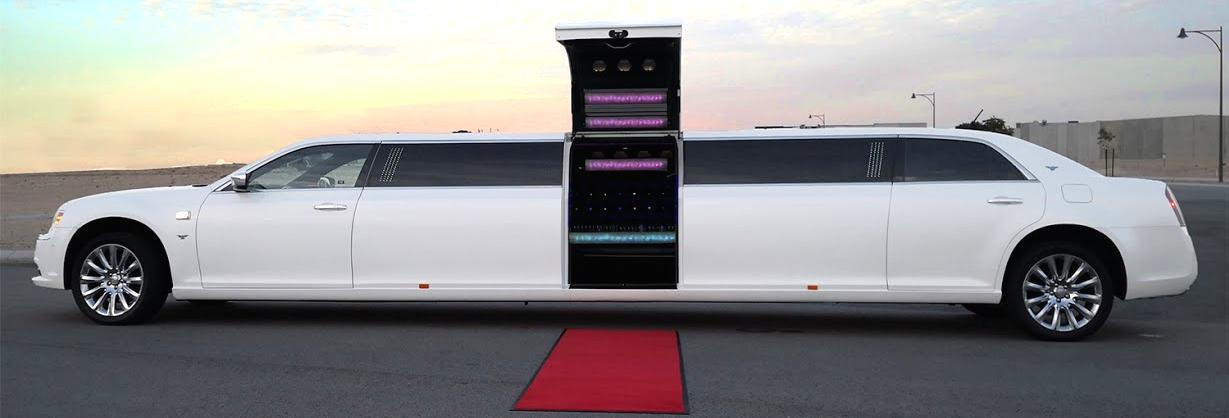 12 Seater Centre Bridal  Door Wedding Limousine from My Limo Hire Perth